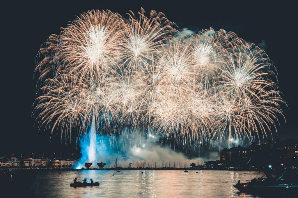 Genève feu d'artifices